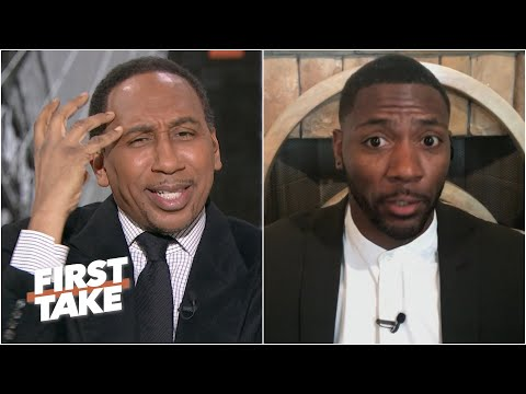Stephen A. grills Ryan Clark for picking the Ravens to win vs. the Bills | First Take
