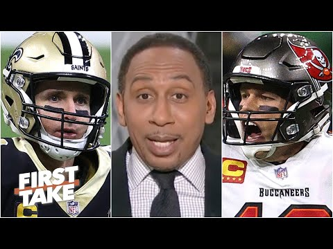 Stephen A. was impressed by the Bucs' win over the Saints in the playoffs | First Take