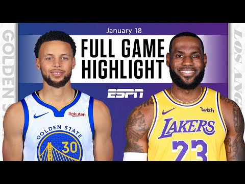 Golden State Warriors vs. Los Angeles Lakers [FULL GAME HIGHLIGHTS] | NBA on ESPN