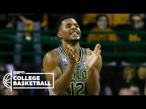 No. 2 Baylor Bears stay undefeated with win over No. 9 Kansas Jayhawks [HIGHLIGHTS]   NBA on ESPN