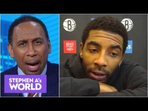 Stephen A. reacts to Kyrie Irving's press conference explaining his Nets absence | Stephen A's World