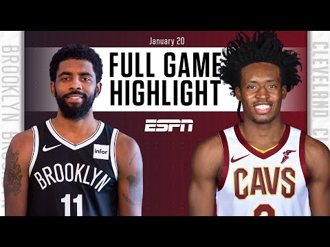 Brooklyn Nets vs. Cleveland Cavaliers [FULL GAME HIGHLIGHTS] | NBA on ESPN