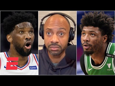 'Marcus Smart flops too!' – JWill on Joel Embiid getting called out for flailing | KJZ