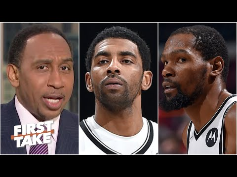 Stephen A. and Max react to the Nets falling to the Cavs in Kyrie Irving's return | First Take