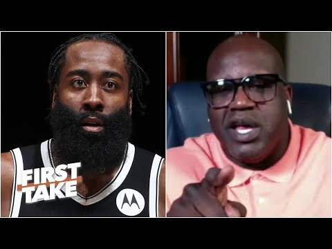 I'm not a 'Yes Man'- Shaq responds to James Harden   First Take