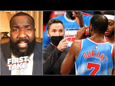 Steve Nash must hold KD, Kyrie and Harden accountable – Perk has concerns about the Nets |First Take