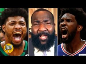 Reacting to Marcus Smart accusing Joel Embiid of 'flailing' for fouls   The Jump