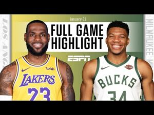 Los Angeles Lakers vs. Milwaukee Bucks [FULL GAME HIGHLIGHTS] | NBA on ESPN