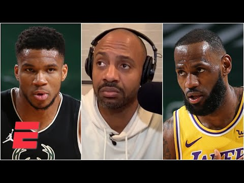 LeBron wants to make sure Giannis knows who's the real MVP of the NBA – JWill | KJZ