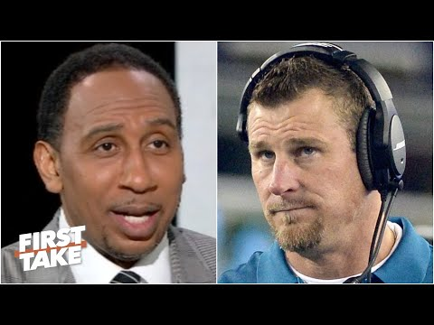 Stephen A. reacts to Lions coach Dan Campbell's 'kneecap biting' reference | First Take