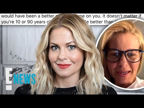 Candace Cameron Bure Responds to Social Media Backlash | E! News