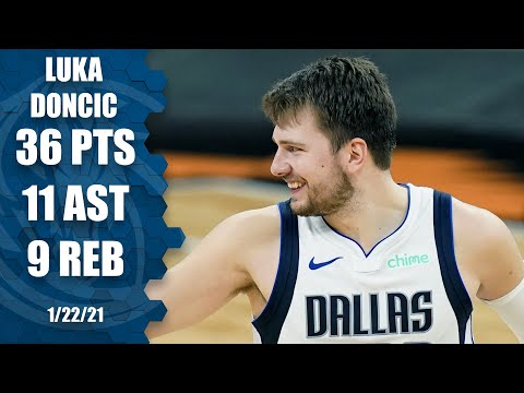 Luka Doncic puts up dominant near-triple-double for Mavs vs. Spurs | NBA on ESPN