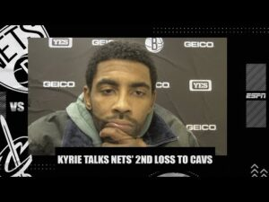 Kyrie Irving says Nets don't to be a 'flip the switch team' after loss to Cavs | NBA on ESPN