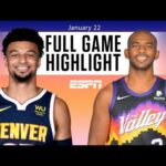 Denver Nuggets vs. Phoenix Suns [FULL GAME HIGHLIGHTS] | NBA on ESPN