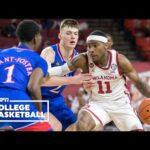 Oklahoma takes down No. 9 Kansas [HIGHLIGHTS] | ESPN College Basketball