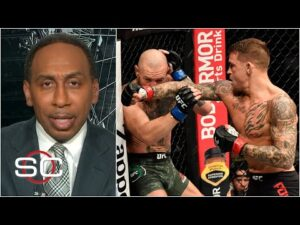 Reaction to Dustin Poirier knocking out Conor McGregor at UFC 257 | SportsCenter