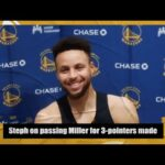 Reggie Miller crashes presser after Steph Curry passes him on all-time 3-point list | NBA on ESPN