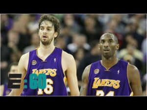 Kobe Bryant and Pau Gasol had an unbreakable bond | E:60
