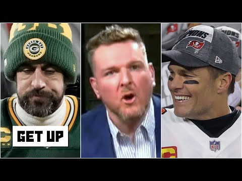 Pat McAfee reacts to Tom Brady going to the Super Bowl and the Packers' field goal decision | Get Up