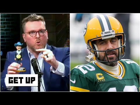 'You got Aaron freaking Rodgers!' – Pat McAfee blames Matt LaFleur for the Packers' loss | Get Up