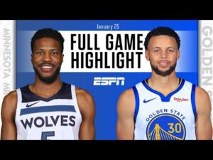 Minnesota Timberwolves vs. Golden State Warriors [FULL GAME HIGHLIGHTS] | NBA on ESPN