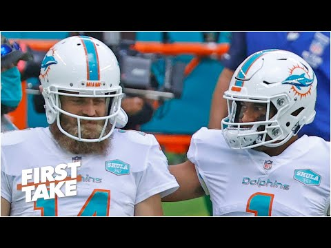 Can Tua Tagovailoa take the Dolphins to the playoffs without Ryan Fitzpatrick?   First Take