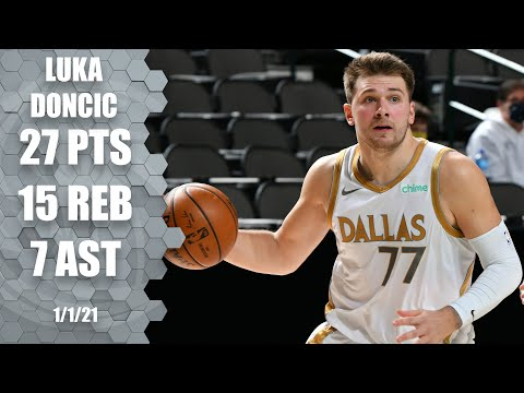 Luka Doncic leads Mavs with 27-15-7 vs. Heat [HIGHLIGHTS] | NBA on ESPN