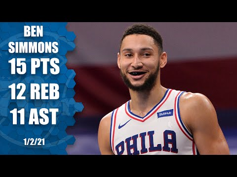 Ben Simmons records first triple-double of season vs. Hornets [HIGHLIGHTS] | NBA on ESPN