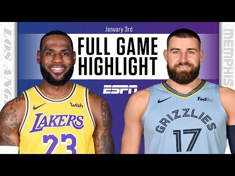 Los Angeles Lakers vs. Memphis Grizzlies [FULL GAME HIGHLIGHTS] | NBA on ESPN