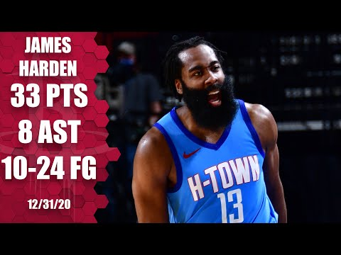 James Harden leads Rockets with 33 points vs. Kings [HIGHLIGHTS]   NBA on ESPN