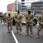 Illinois National Guard members in D.C. for the Biden inauguration; city in lockdown after Capitol attack