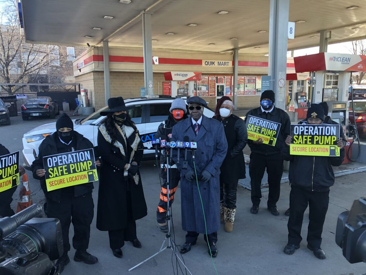 In effort to thwart carjackings, private security firm to post guards at gas stations