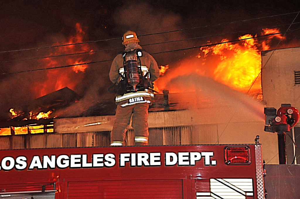 LA city firefighter union agrees to delay raises, joining civilian workers in bid to avoid layoffs