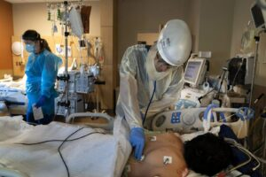 VIRUS TODAY: More hospital ICUs edge nearer a breaking point