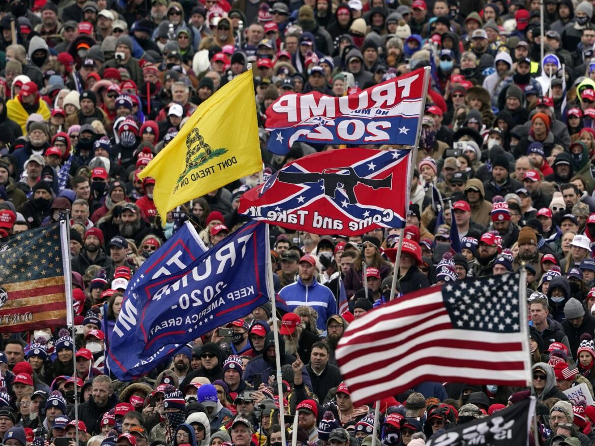 Some in GOP parrot far-right talk of coming civil war