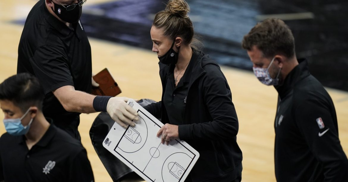 Why Gregg Popovich believes Becky Hammon coaching isn't a big deal