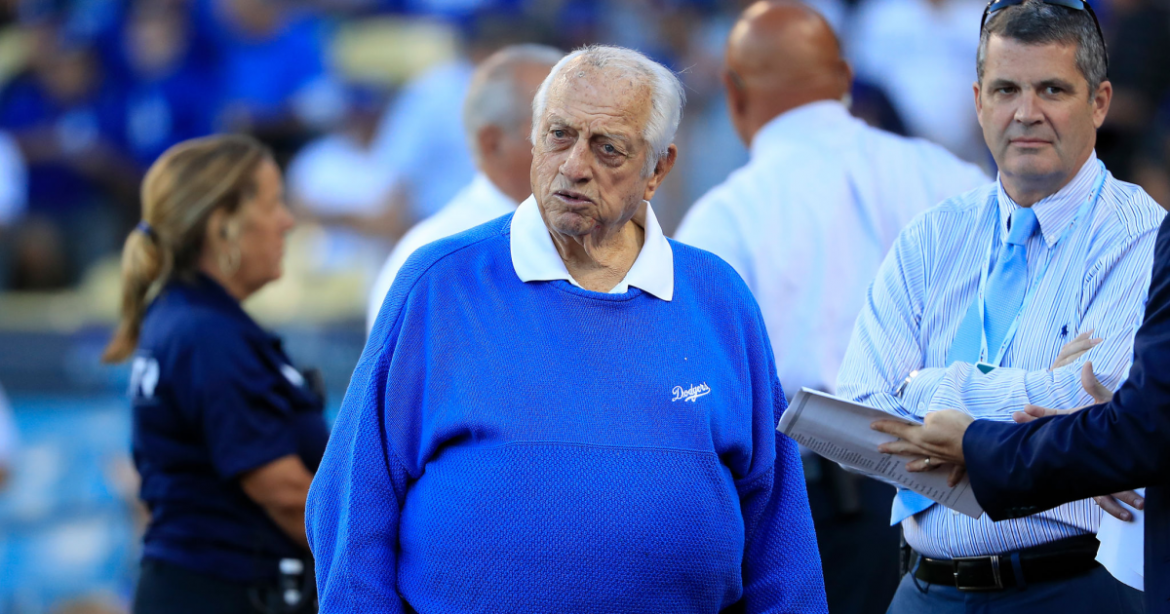 Tom Lasorda discharged from hospital and is 'resting comfortably'