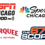 Chicago sports broadcast media power rankings