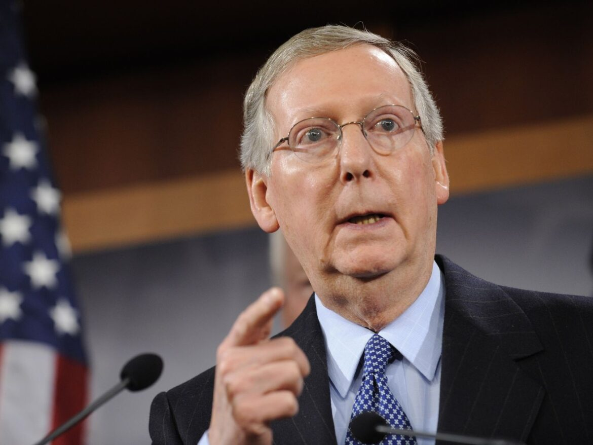 Mitch McConnell says pro-Trump mob that attacked Capitol was 'fed lies' and 'provoked by the president'