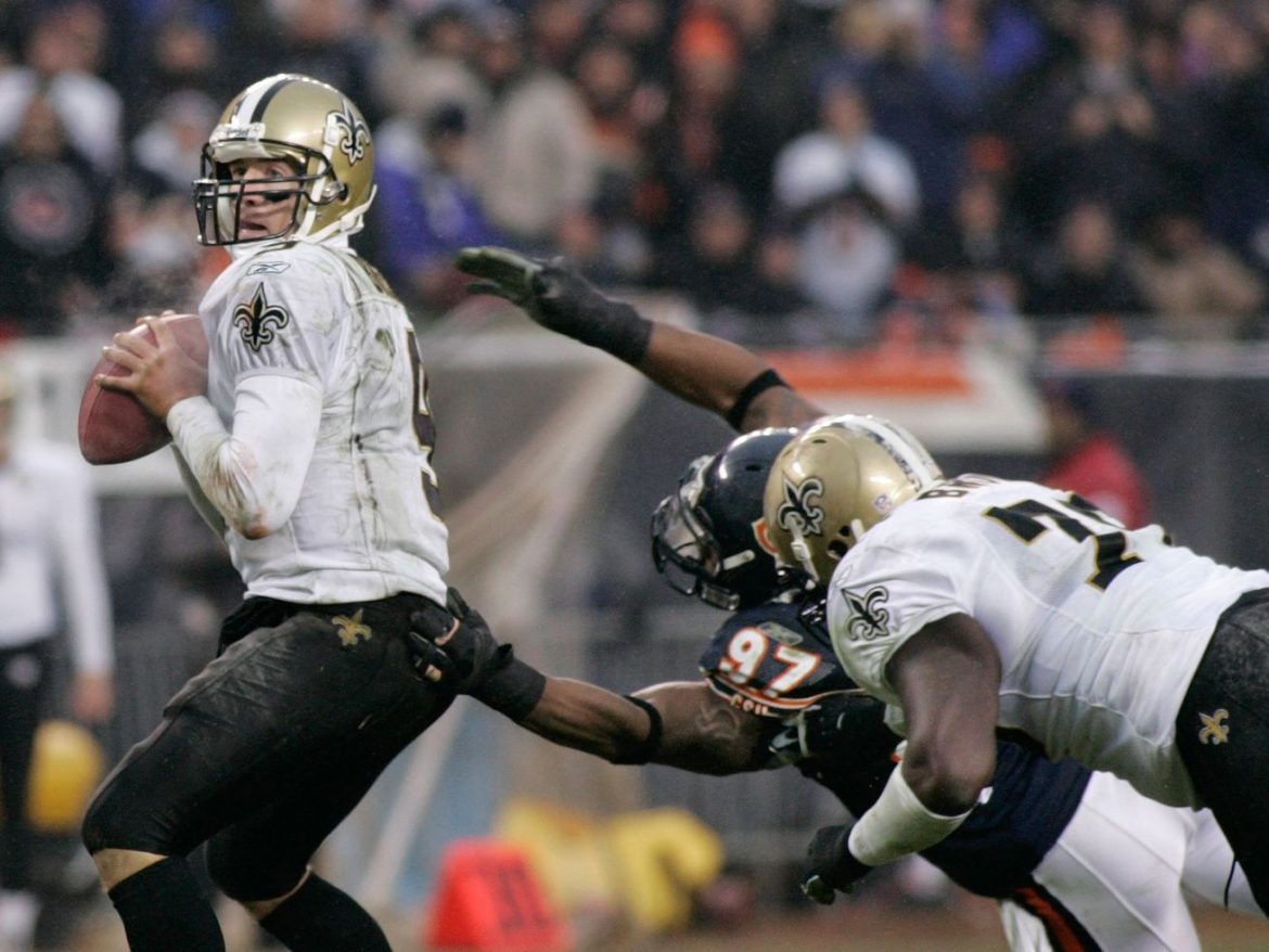 Drew Brees' Saints empire is rooted at Soldier Field; will it end Sunday?