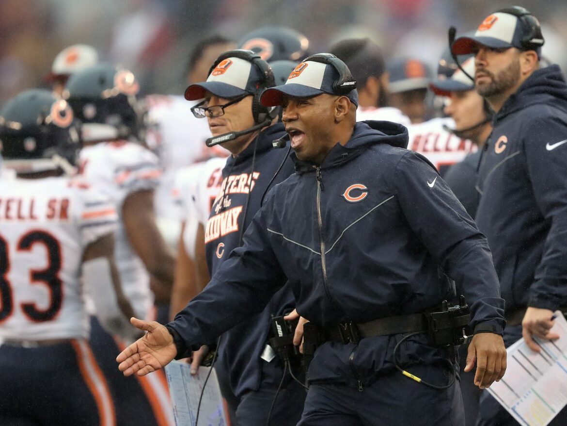 Bears RB coach Charles London headed to Falcons — report