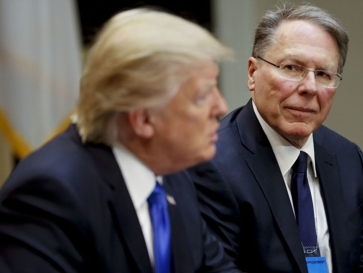 NRA declares bankruptcy, group will move from NY to Texas