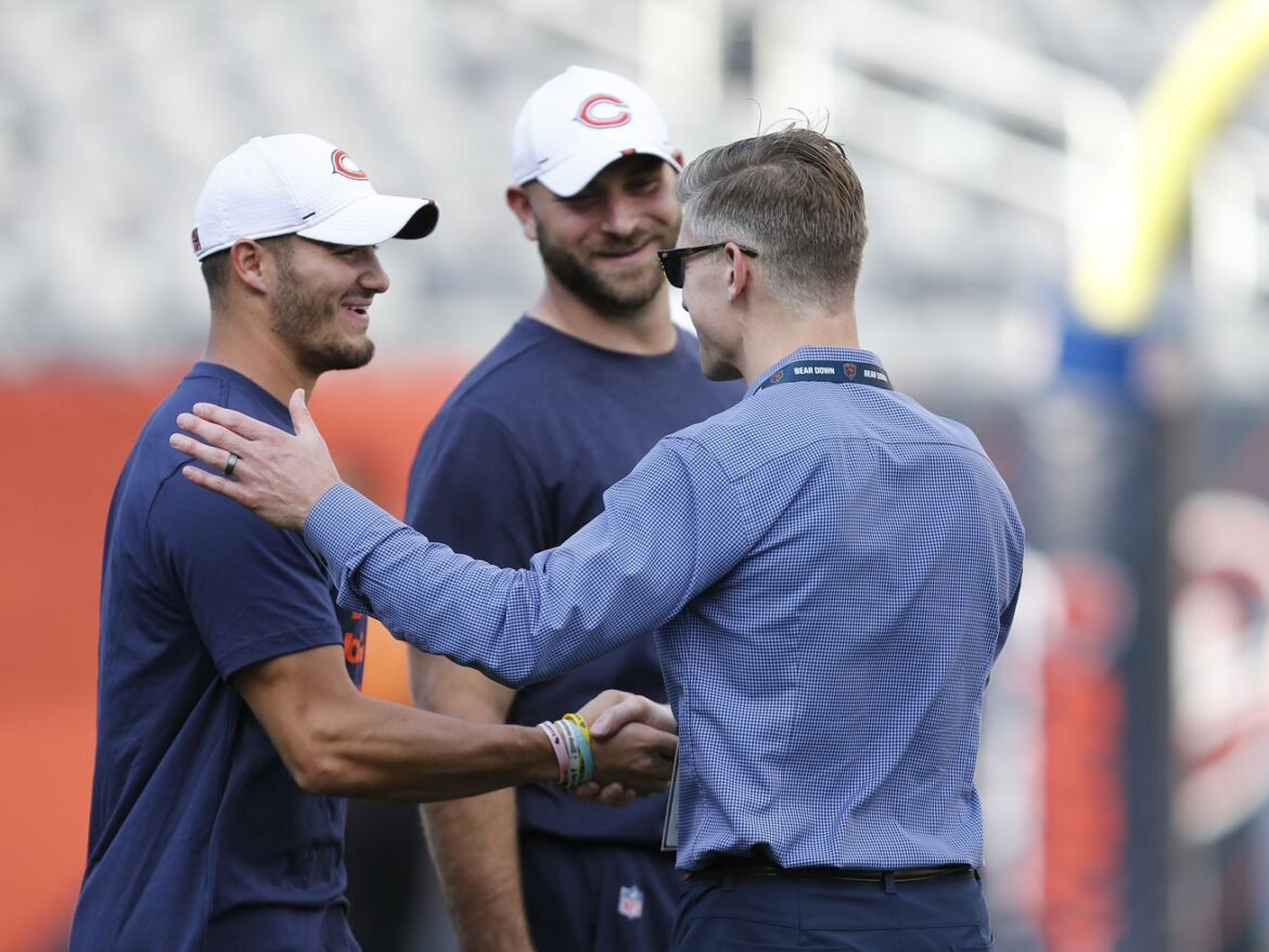 A little help? Ryan Pace counting on it in Bears' QB search