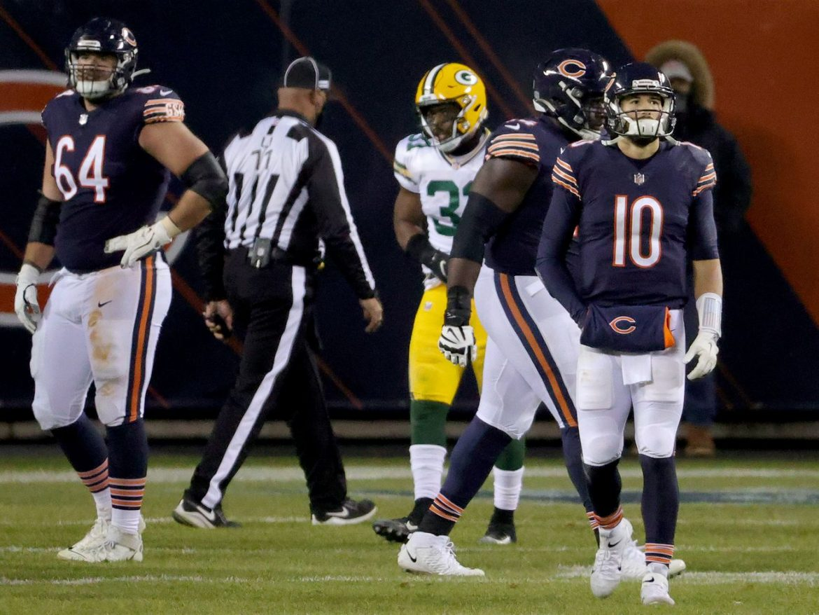 Despite loss, Mitch Trubisky 'in a good mental space' heading into playoffs
