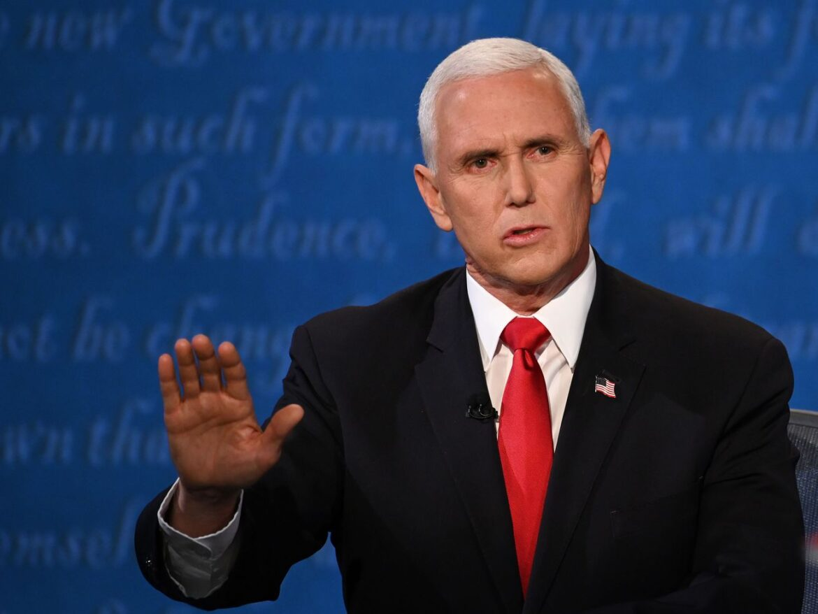 Pence acknowledges 'our time' coming to an end