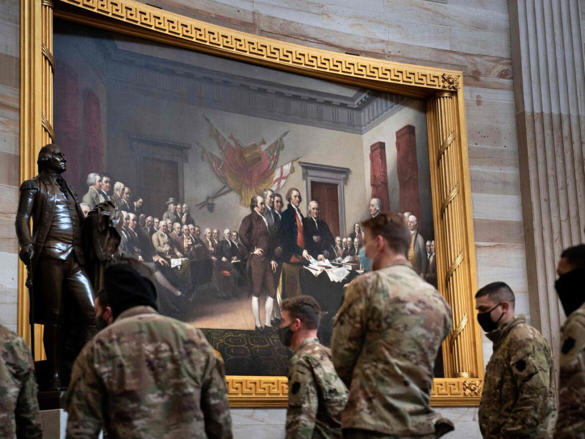 Military leaders decry Capitol attack to forces