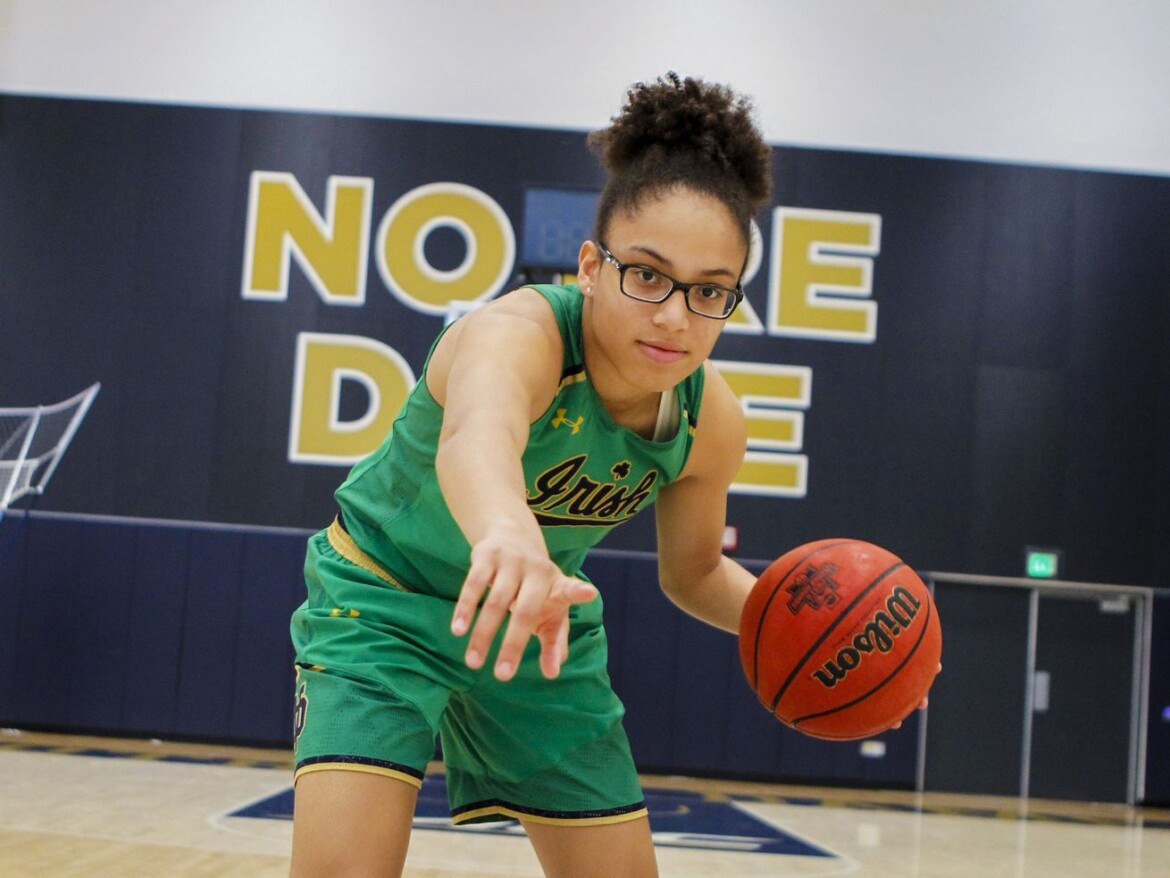 Notre Dame women's basketball is all smiles with Olivia Miles
