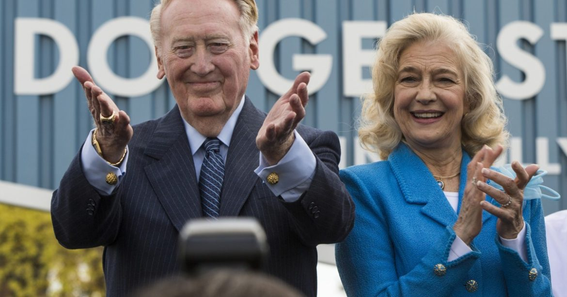 'I would be nothing without you': Remembering Sandra Scully, the wind beneath Vin's wings