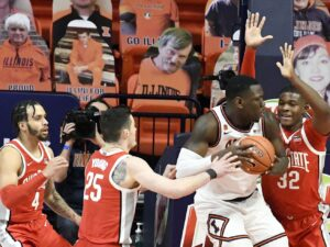 No. 21 Ohio State powers past No. 14 Illinois