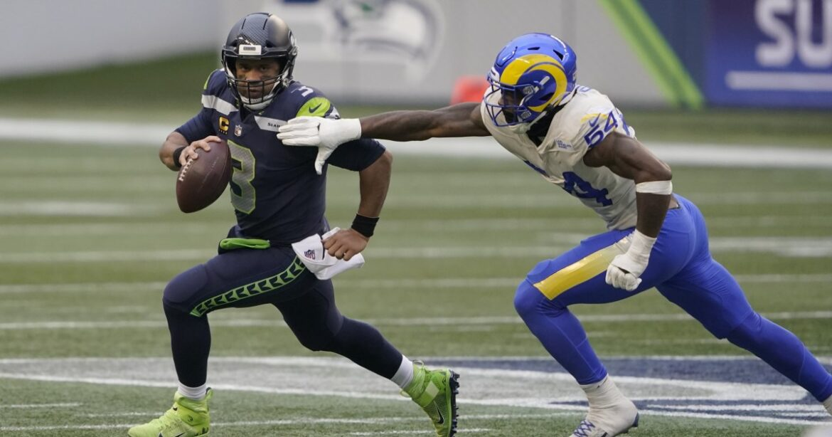 Rams' 30-20 playoff victory over the Seattle Seahawks by the numbers